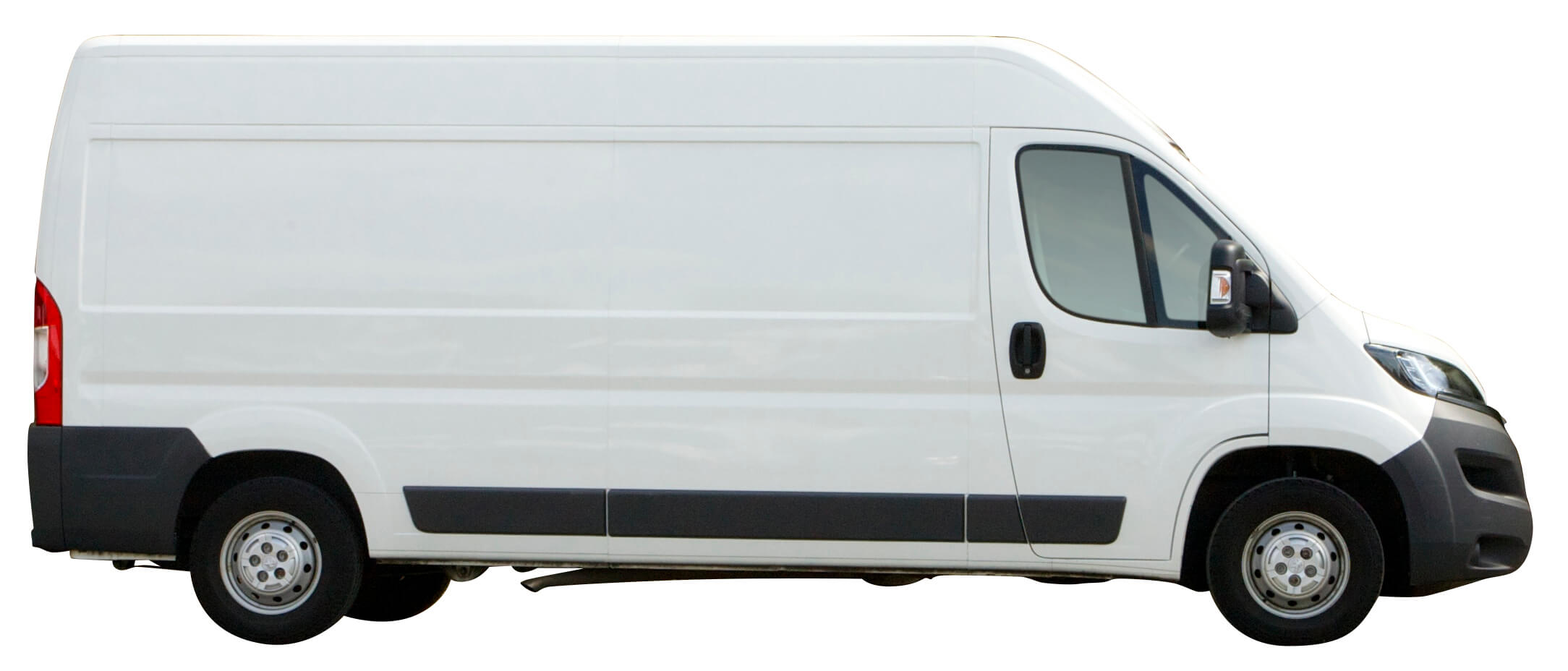 Long wheel base van